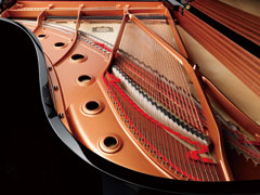 Frame Yamaha C5X Grand Piano