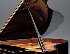 Top Yamaha C5X Grand Piano